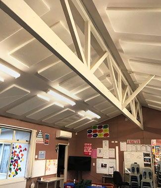 White Polyester 